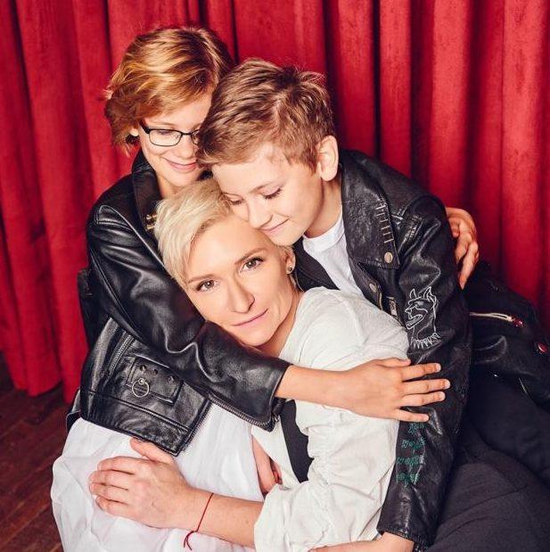 Диана Арбенина показала снимки своих подросших детей-двойняшек