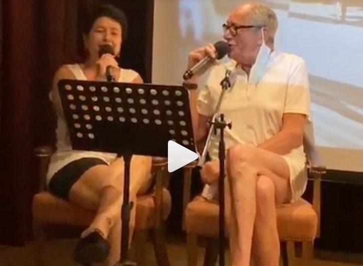 """""""Нужно быть поскромнее"""": 58-летняя жена Виторгана показала ножки в узких и коротких шортах"""
