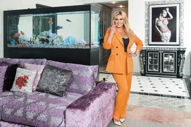 Очень дорого и роскошно: Аня Семенович показала свою большую квартиру