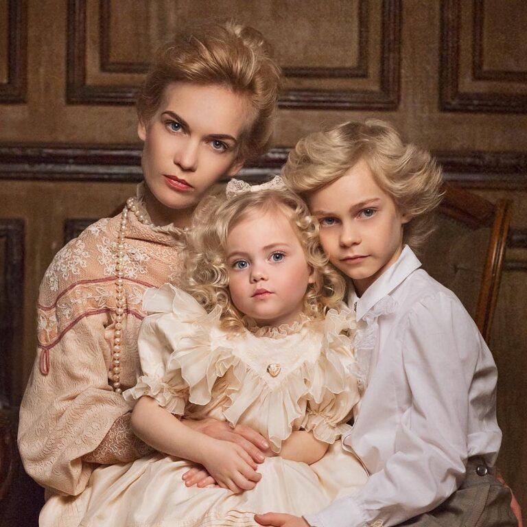 Вот как выглядит самая красивая женщина, которая родила самых красивых детей в мире
