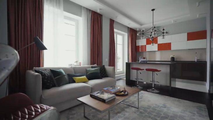 Роскошная квартира обаятельного и харизматичного Максима Аверина: вот как живет артист