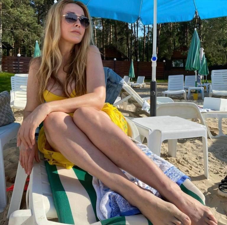 Словно Афродита! 54-летняя Ольга Сумская показала свои идеальные формы