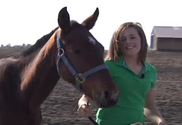 Она достойна уважения. Девушка спасла встретившуюся на дороге лошадь, которая была почти бездыханна